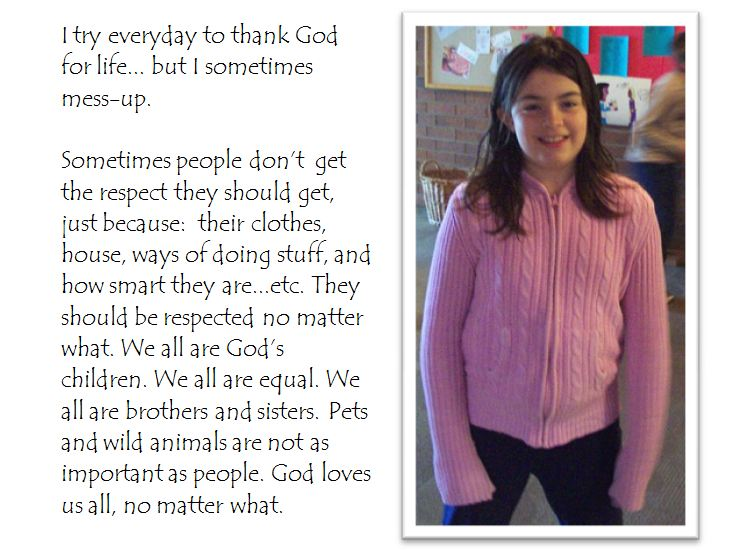 winning respect life essay by kate wagner grade   beads of st  share this