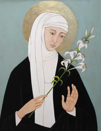 St Catherine Of Siena The Seraphic Virgin Mystic Of The