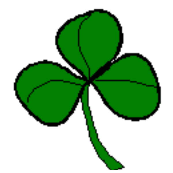 Christian Symbols Advent Calendar Day 2 The Three Leaved Clover